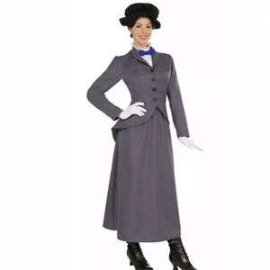 🆕 ENGLISH NANNY Women's Costume Mary Poppins Hat